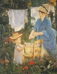 The laundry - Edouard Manet