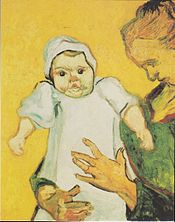 does the van gogh painting of a mother & baby show abuse? in Florida failure to report suspected child abuse is a felony.