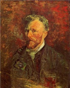 Van Gogh's self portrait with pipe establishes that had he lived in Tampa Bay, Florida a search warrant would have been required to take his marijuana at his home and charge him with the crime of possession.