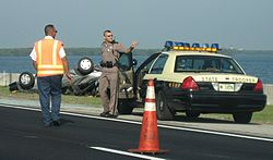 The Florida Highway Patrol investigates DUI manslaughter cases, accidents and investigates drugs found in vehicles.