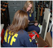 ATF warning to individuals selling guns and firearms is not to try to get around the background check requirements.