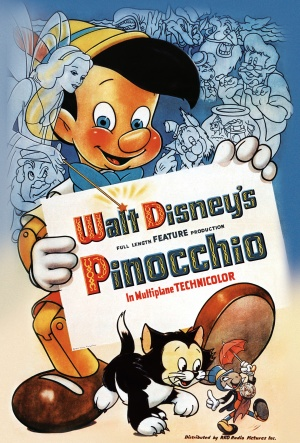 Pinocchio-1940-poster.jpg In Tampa Bay and Clearwater Florida police make up facts to become Officer Pinocchio lying on police reports and during testimony.