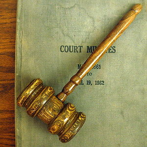 The Judge's Gavel for dismissal of criminal charges in Florida criminal defense cases in Tampa Bay.