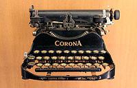 200px-Musée_des_arts_et_métiers_-_Corona_typewriter