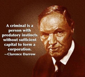 What would Clarence Darrow think of Florida police investigations and arrests?